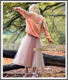 fall-winter - Miss Sixty Miss Sixty, Fall Winter, Tulle, Ballet Skirt, Skirts, Fashion, Moda, Fashion Styles, Skirt