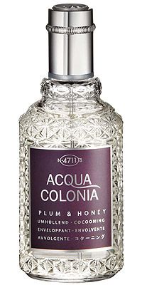 Maurer-Wirtz/4711-Acqua-Colonia-Plum-Honey # sweet honey fruity floral animalic sour