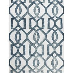 Found it at Wayfair - Eltingville White & Gray Area Rug