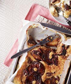 Parasta aamupalahemmottelua on herkullinen pannari. Ciabatta, Cheesesteak, Camembert Cheese, Banana Bread, Delicious Desserts, Nom Nom, French Toast, Sweets, Apple