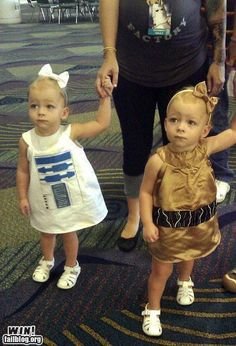 Star Wars twins!!!
