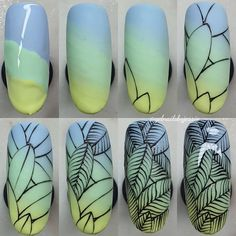 Nail Art Hacks, Nail Art Diy, Diy Nails, Nail Art Fleur, Nail Drawing, Floral Nail Art, Pedicure Nail Art, Butterfly Nail, Fall Nail Art