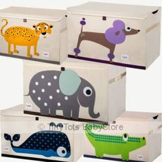 3 sprouts toy chest in lovely 3 Sprouts Characters  #3sprouts #toys #toystorage