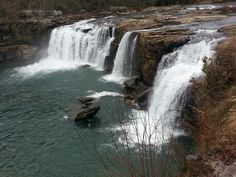 Little River Falls in Alabama