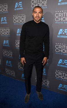 Rosario Dawson & Jesse Williams Step Out in Style for Critics' Choice Awards Photo Rosario Dawson shows a little shoulder while attending the 2015 Critics' Choice Movie Awards held at the Hollywood Palladium on Thursday evening (January in… Jesse Williams, Detroit Become Human Actors, William Trevor, Sarah Drew, Jackson Avery, Jake Miller, Teen Wolf Boys, Kendall Schmidt, Star Wars
