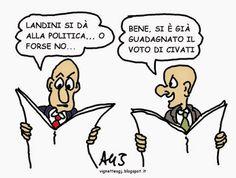 Il marxismo libertario: LANDINI: LASCIAMO PERDERE... di Aldo Giannuli