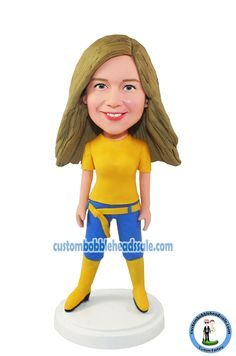 Custom Bobblehead Girls Find unique Christmas presents and gift ideas for men, women and kids at Custom Bobbleheads.