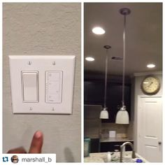 #Repost @marshall_b with ・・・ New dimmer #lutron #caseta #wink #hub #homeautomation #home #automation #winkhub #lighting #iphone #homecontrol #hometheater #picplaypost @lutronelectronics @thewinkapp #diy #lights #led #modernhome #modern #home #interior #co