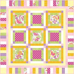 Bee Sweet Baby Quilt Pattern Connecting Threads Free Download