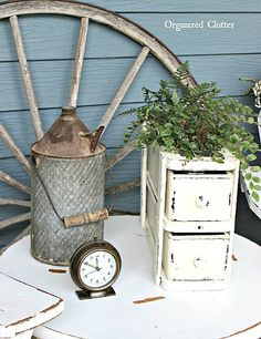 I purchased these two vintage sewing machine drawers at the consignment shop recently for $10. Usually these drawers are just sold i...