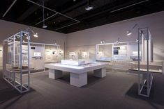 <Hyundai Card Culture Project 15 _ Young Architects Program> Exhibition design (designed by. Best Interior Paint, Interior Design Programs, Lighting Showroom, Eating Before Bed, Good Day Song, Deco Furniture, Interior Exterior, Booth Design, Interiores Design