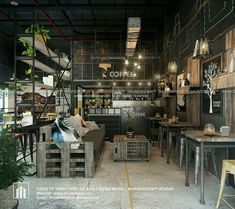 Home Decoration Sale Clearance Coffee Shop Interior Design, Coffee Shop Design, Cafe Shop, Cafe Bar, Restaurant Design, Restaurant Bar, Coffee House Decor, Coffee Restaurants, Cafe Concept