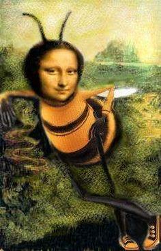 Mona is a honey.  মক্ষীরানী   মোনালিসা