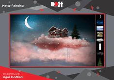 STUDENT WORK Student Name :- Jigar Godhani Category :- Matte Painting Software :- Photoshop