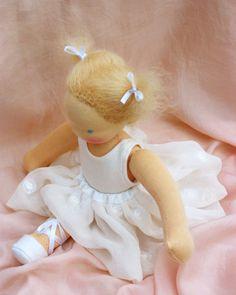 Ballerina Waldorf doll 12 inch/ 30 cm by Puppula by Puppula, $189.00