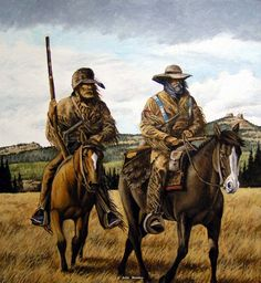 mountain men prints | ... mountain man art - Western, Native American & Mountain Man Art by John