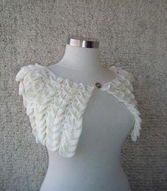 Crocodile stitch bolero-if i could crochet, this is what i would make lol