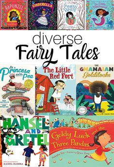 Culturally Diverse Fairy Tales - 11 picture books for your classroom - No Time For Flash Cards - theodora Library Books, My Books, Story Books, Fairy Tales For Kids, Preschool Books, Books For Preschoolers, Preschool Pictures, Alphabet, Mentor Texts