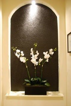 designs decorating wall niches