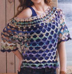 Women's top crochet pattern