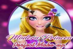 Bienvenida al salón de belleza de las princesas modernas donde podrás maquillar a las princesas que se presenten. Ni te imaginas la gran cantidad de diferentes estilos que te tenemos para las princesas.