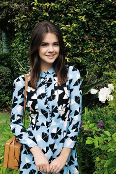 Maia Mitchell wears a Marc by Marc Jacobs dress. Photographed by Michael Hauptman. Syled by Sasha Kelly.
