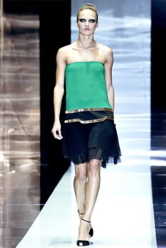 The new dress....  Gucci spring 2012