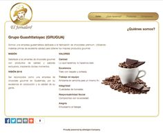Empresa: Gurugua, S.A.  Role: Fabrica de Chocolates  Web: www.eljornalero.com.gt