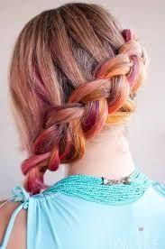 Resultado de imagen para peinados tumblr de colores