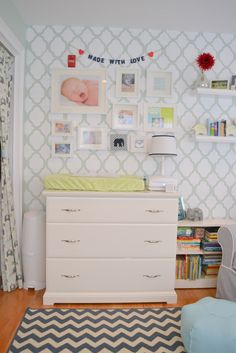 Colton's modern elephant nursery | Project Nursery