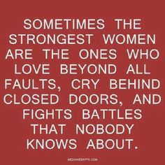 Strong silent types come in both genders.