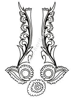 design in Kalamkari style