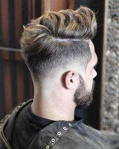 nice Cool Mens Hairstyles + Haircuts For Men Cool Hairstyles For Men, Undercut Hairstyles, Hairstyles Haircuts, Haircuts For Men, Hairstyle Ideas, Mens Haircut Undercut, Mens Hairstyles Fade, Classic Hairstyles, Modern Haircuts