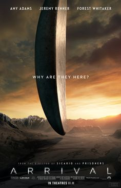 """You had us at """"Denis Villeneuve goes sci-fi"""" and sold our ticket when you put…"""