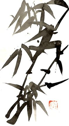 sumi-e art from Tchouki