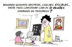 Post  #FALASÉRIO!  : UM GOVERNO QUE SE  ESVAI NO RALO DA CORRUPÃO !