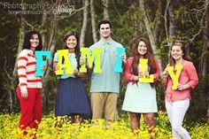 Family Portrait Photography #PhotographybyHailey #yellowflowers #fieldofflowers