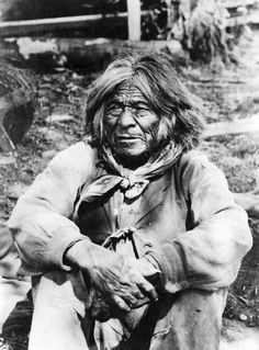 An old Ute Indian, Tu-Cu-Pit, who saw the pioneers first enter Salt Lake Valley in 1847. Courtesy Utah Historical Society