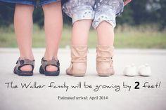 Pregnancy announcement ideas / Pregnancy photos / Maternity Photography / Pregnancy Photography / New baby announcement / Birth announcement ideas / Child Photography / Pregnancy announcement with siblings