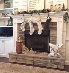 Living room mantle!! Exactly what I want!
