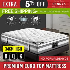 Experience ultimate comfort and plush feel with the premium quality cushioning of our PET Mattress. The premium quality knitted fabric covering provides an inviting look and gives your mattress a smooth and silky softness. Euro Top Mattress, Cheap Mattress, Queen Mattress, Mattress Pad, Cheap Bedding Sets, Queen Bedding Sets, Comforter Sets, King Comforter, King Single Bed