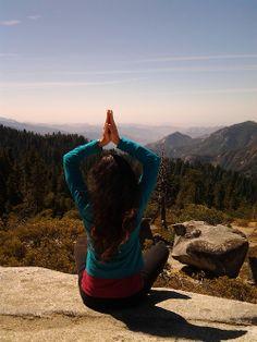 Yoga at Sequoia National Park: www.LauraYoga.webs.com @LauraGyoga
