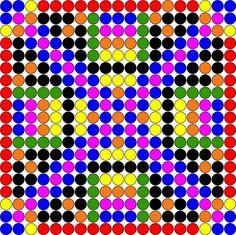 Hama perler design pattern