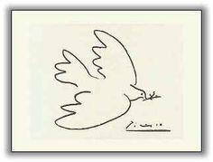Picasso y la Paloma de la PAZ!!!  Picasso's Peace Dove!