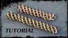 Bead Crochet Mastering the Beaded Rope with Ann Benson Seed Bead Tutorials, Beading Tutorials, Bead Jewellery, Seed Bead Jewelry, Beaded Jewelry Patterns, Beading Patterns, Bead Crochet Rope, Beaded Crochet, Beading Techniques