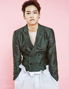 JB and Yu Gyeom - Allure Magazine July Issue '16