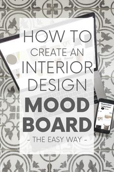 Learn the easiest way to create a mood board for interior design, using something you likely already have - a Pinterest account! #moodboard #designboard #interiordesign Interior Design Boards, Beautiful Interior Design, Beautiful Interiors, Boho Room, Boho Living Room, Living Room Modern, Sustainable Design, Sustainable Living, Modern Boho