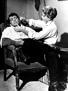 Dean Martin and Angie Dickinson in Rio Bravo / AS1966