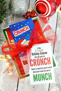Crunch Stocking Stuffer Gift Idea