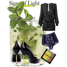 Signs of Light on a Summer Night Summer Nights, Luxury Fashion, Dress Up, Style Inspiration, Signs, Polyvore, Shopping, Collection, Costume